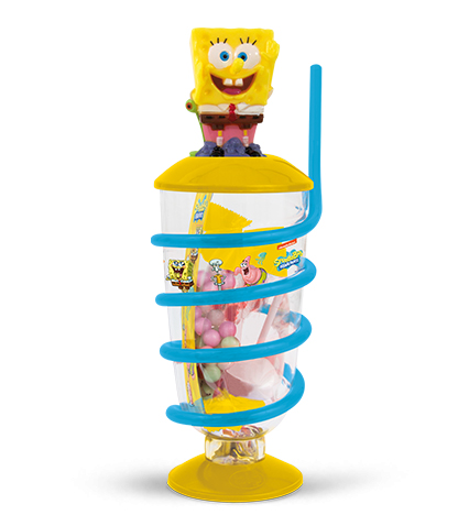License Mix Candy Cup Container