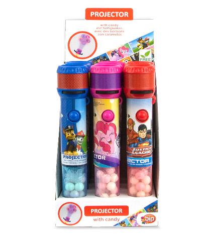 License Mix Candy Projector